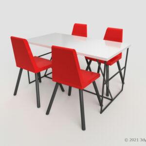 ダイニングテーブルセット(4人掛け)