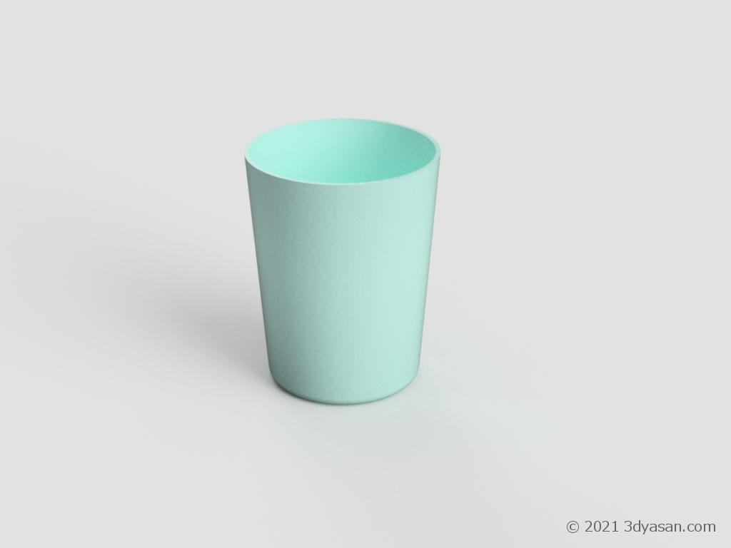 コップの3Dモデル