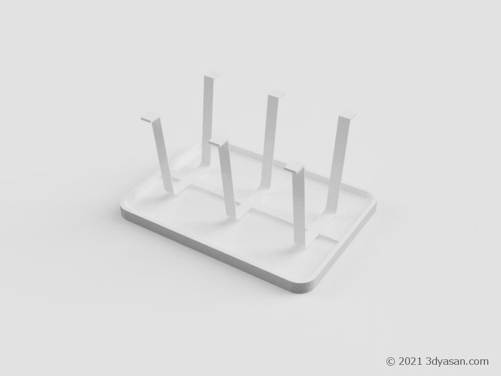 コップスタンドの3Dモデル