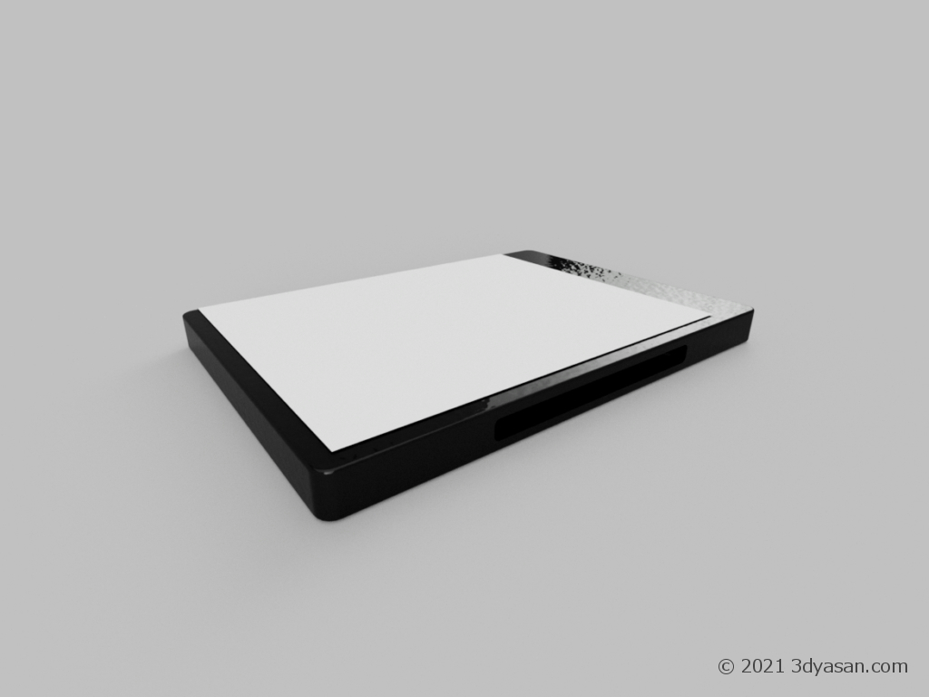 DVDケースの3Dモデル