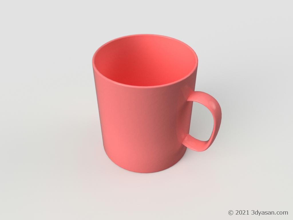 マグカップの3Dモデル