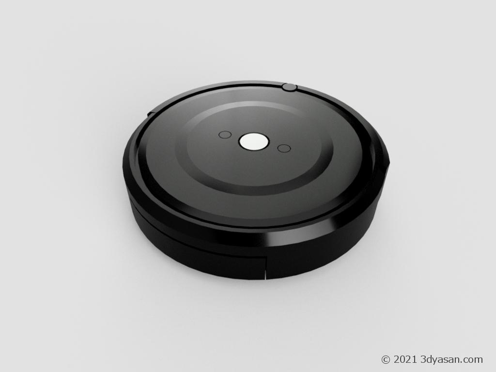 掃除ロボットの3Dモデル