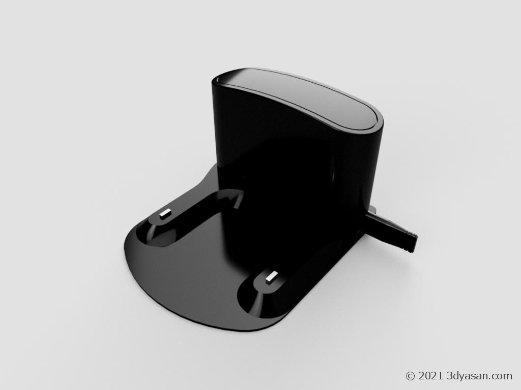 掃除ロボットの充電器の3Dモデル