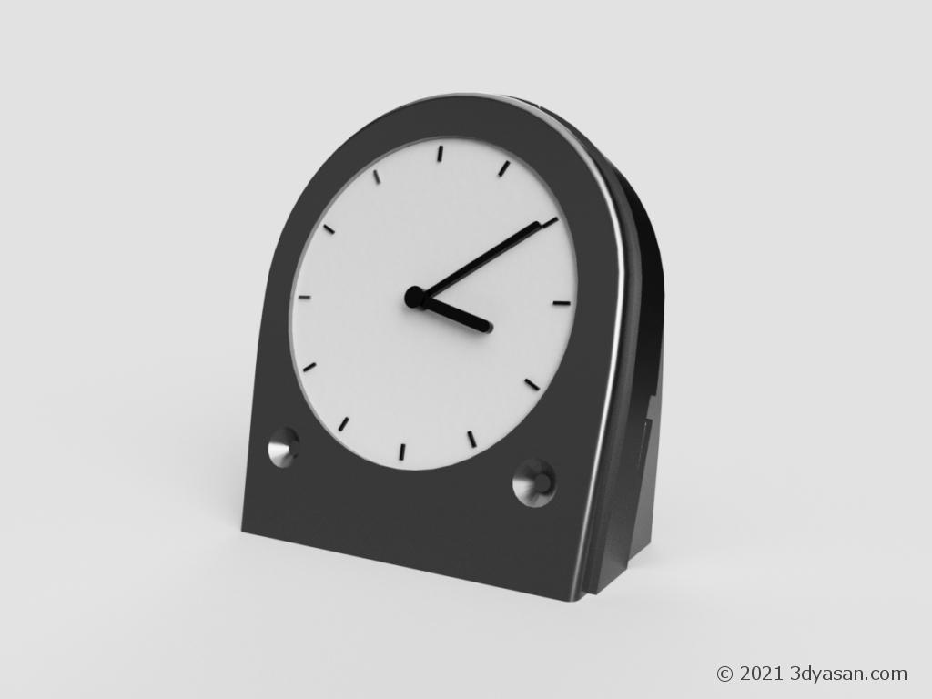 置時計の3Dモデル