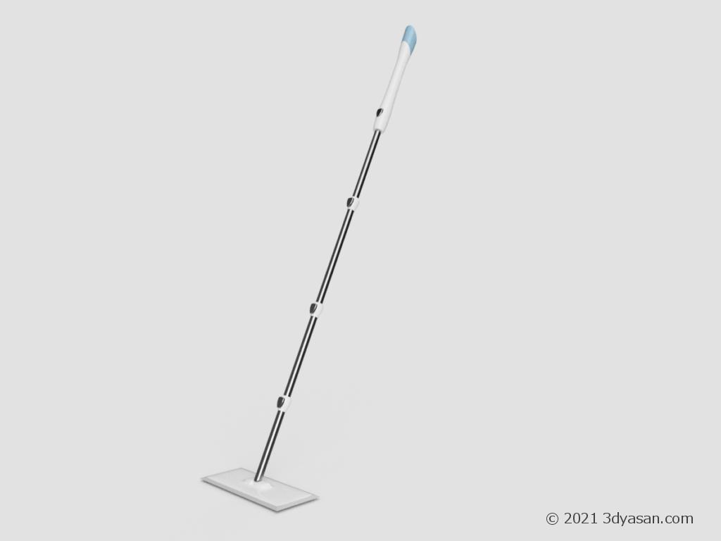 フロアワイパーの3Dモデル
