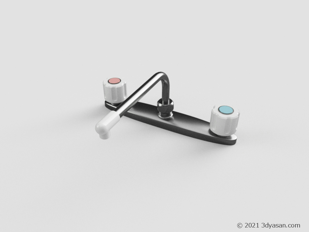 蛇口の3Dモデル