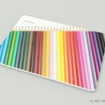 色鉛筆36色セットの3Dモデル
