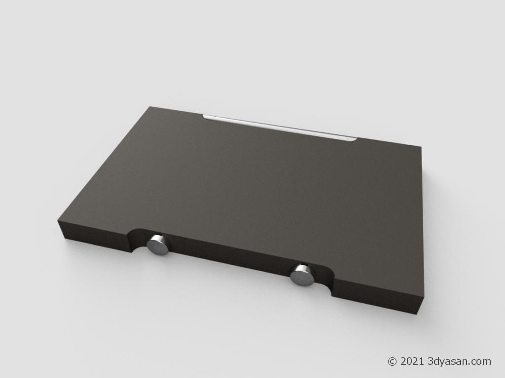 色鉛筆120色セットの3Dモデル