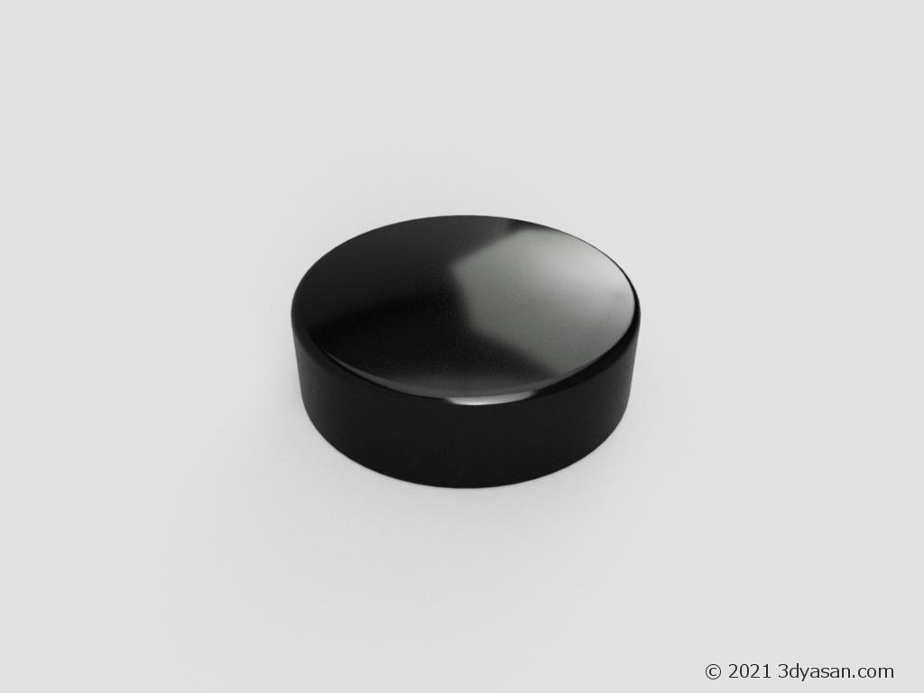 朱肉の3Dモデル