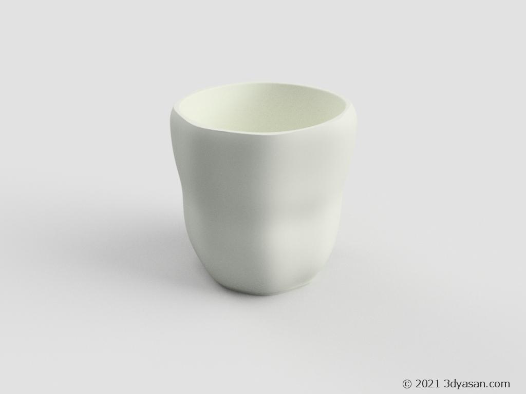 湯呑の3Dモデル