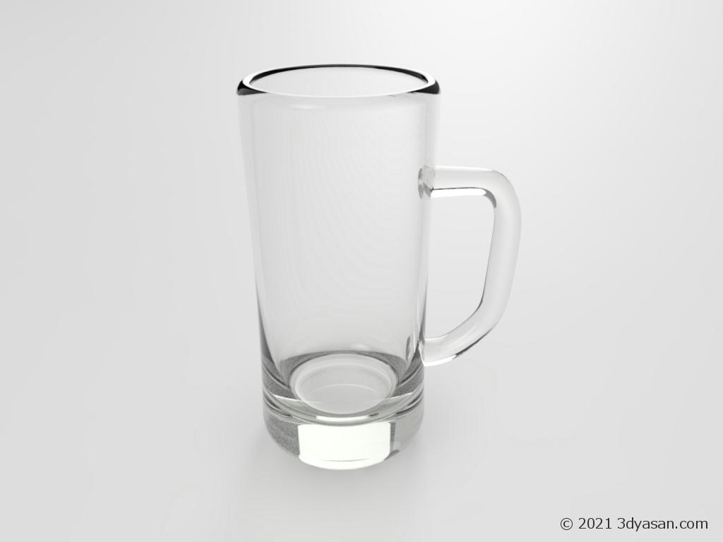 ビールジョッキの3Dモデル