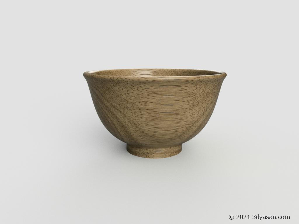 めし茶碗の3Dモデル