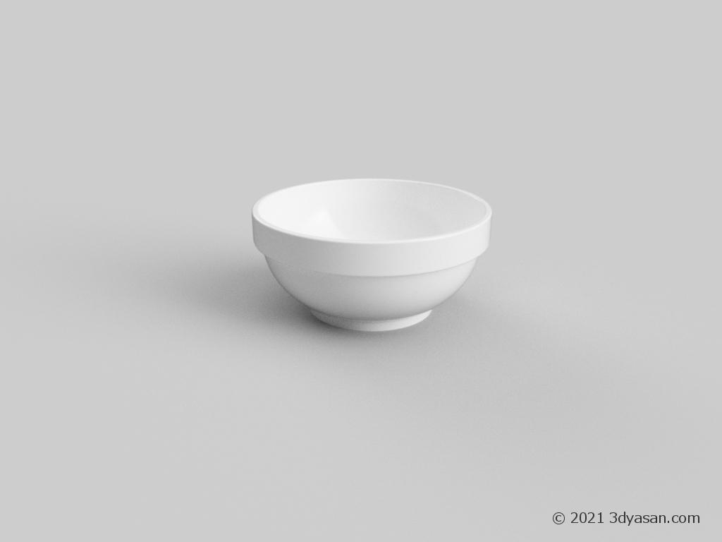 小鉢の3Dモデル