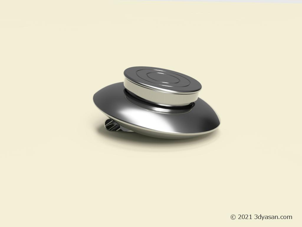 油壷の3Dモデル