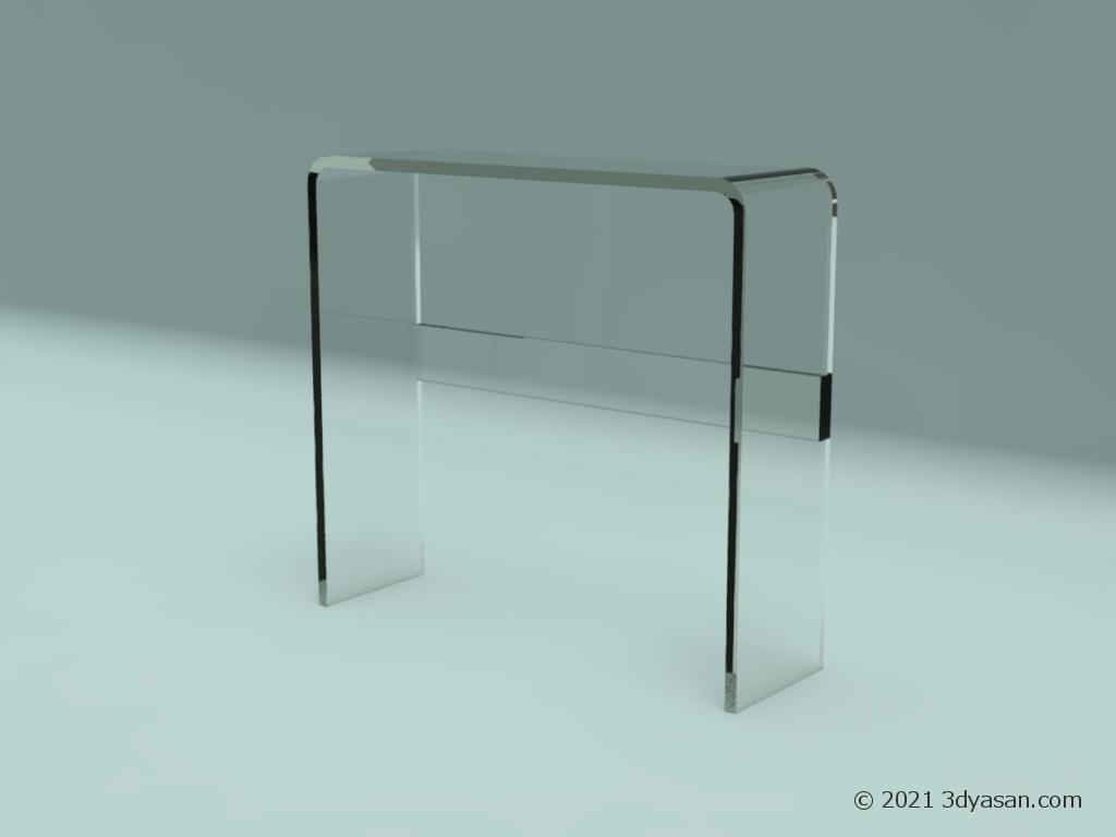 コンソールテ-ブルの3Dモデル
