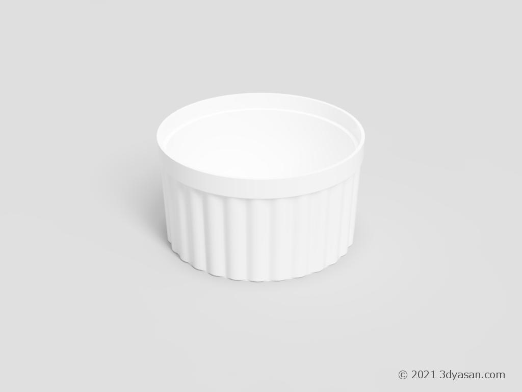 ココットの3Dモデル