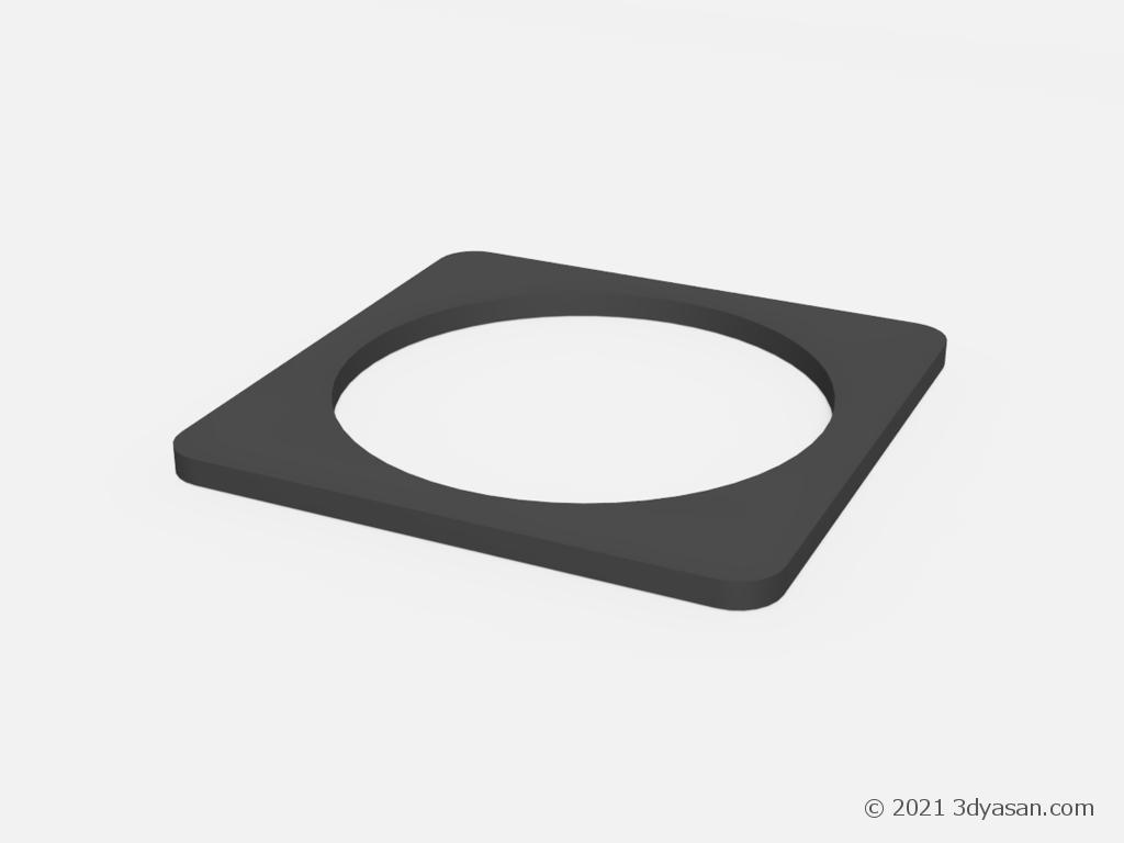 コーンベッドの3Dモデル