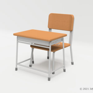 学校机・椅子セット(低)