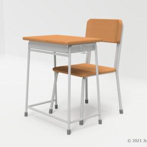 学校机・椅子セット(高)