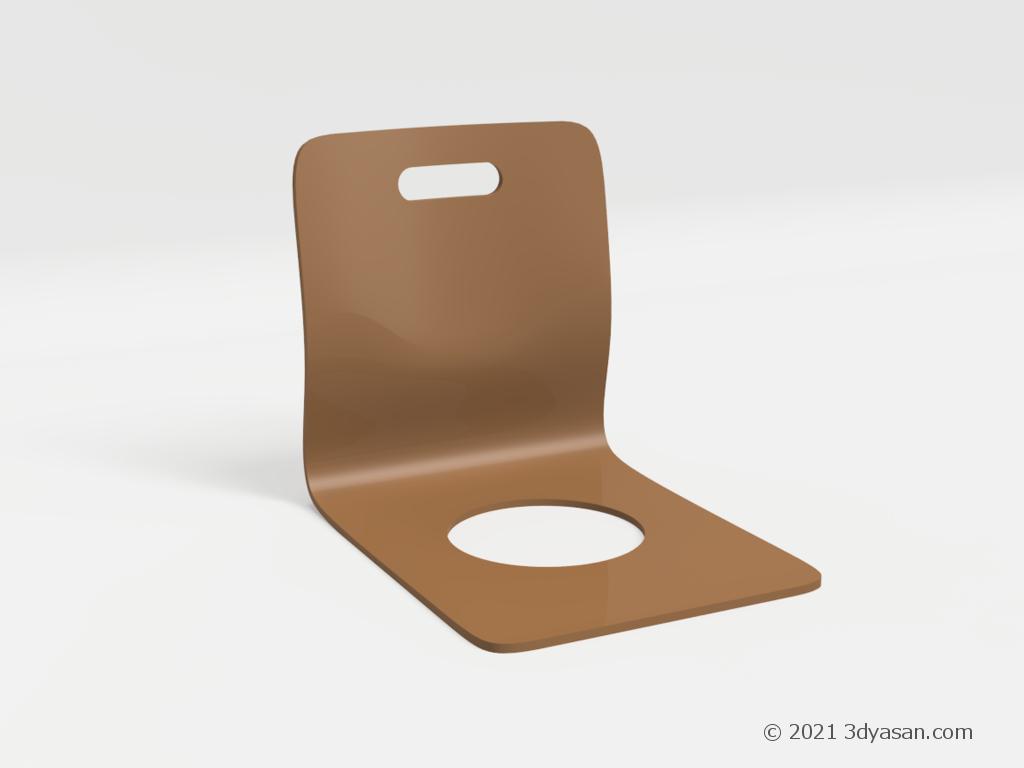 座椅子の3Dモデル