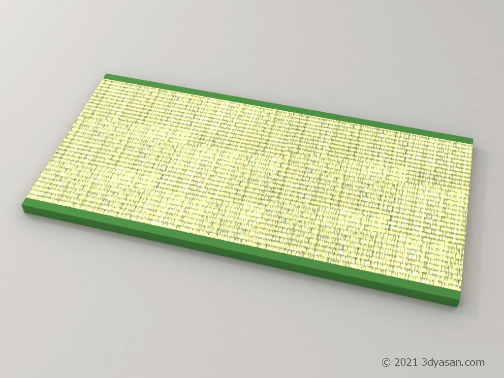 畳の3Dモデル