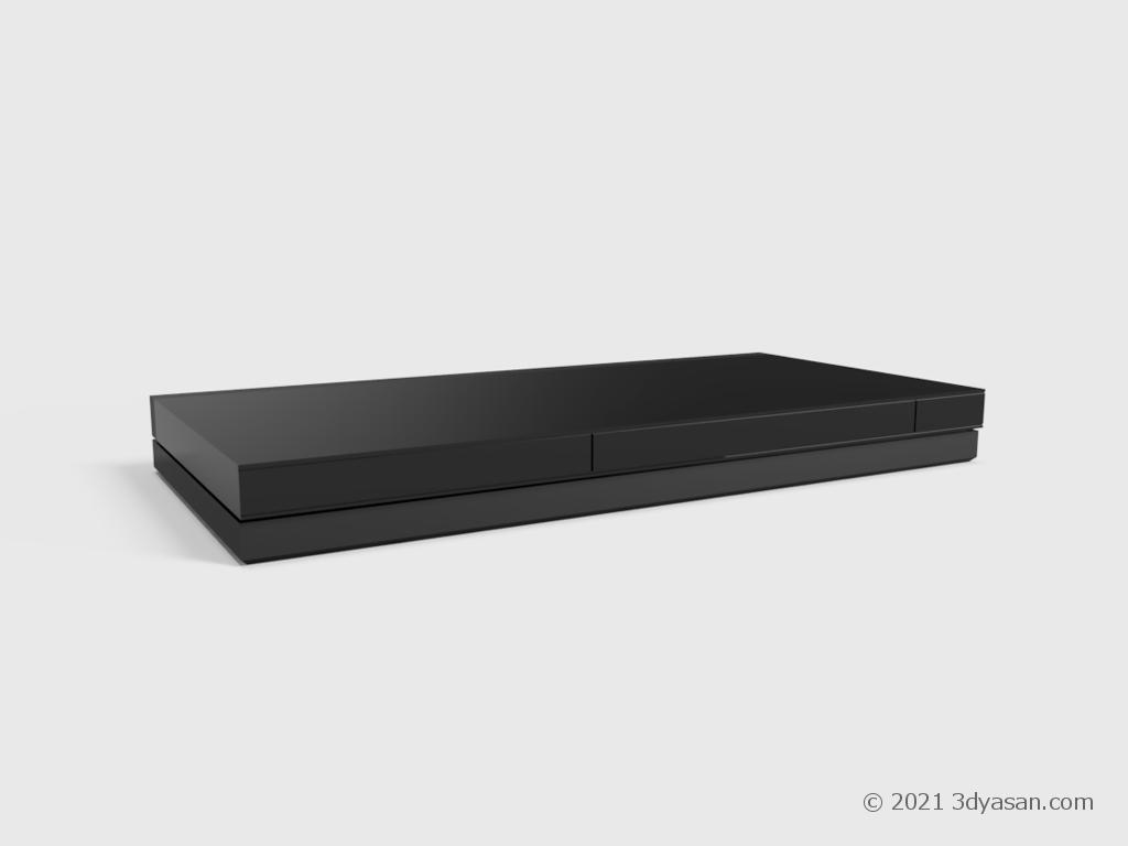 BD/DVDレコーダーの3Dモデル