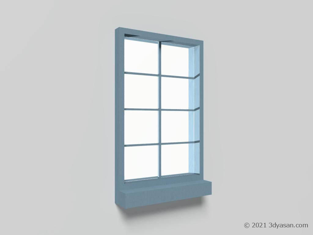 窓の3Dモデル