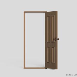 室内ドア(開)
