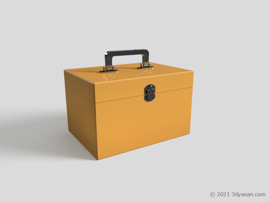救急箱の3Dモデル