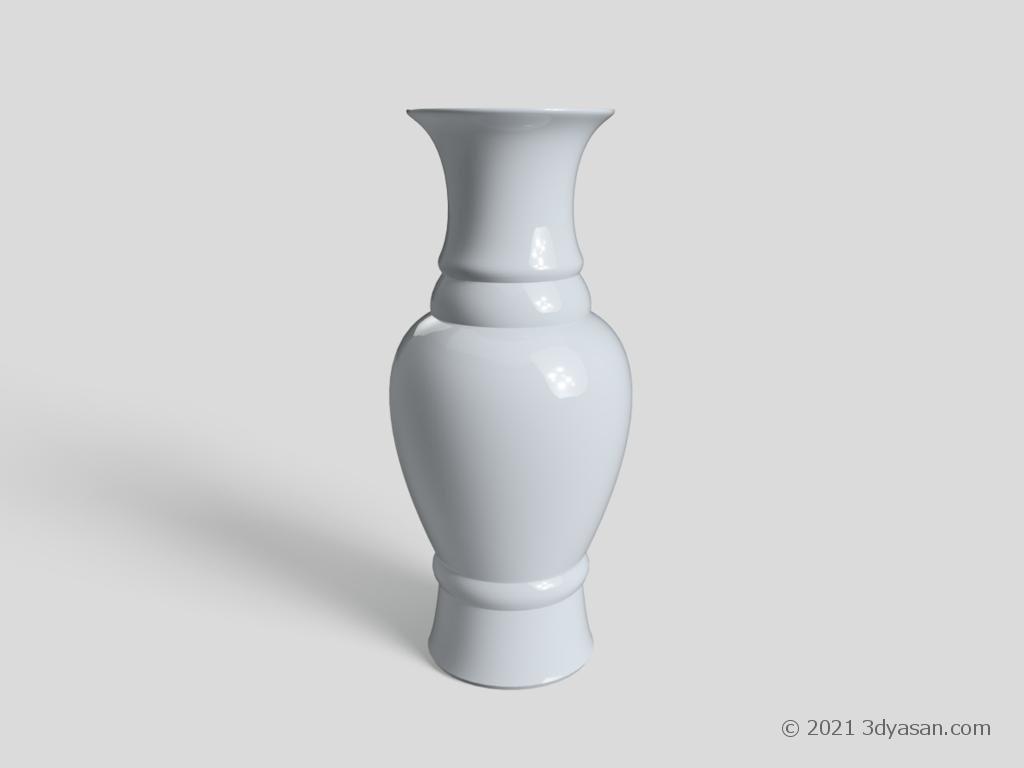壺の3Dモデル